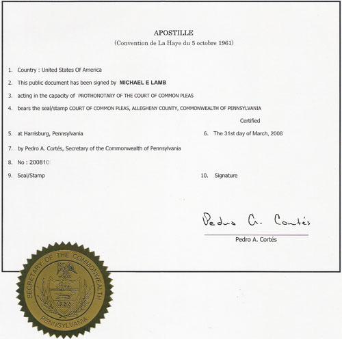 Ukrainian Certified Translation Divorce Certificate
